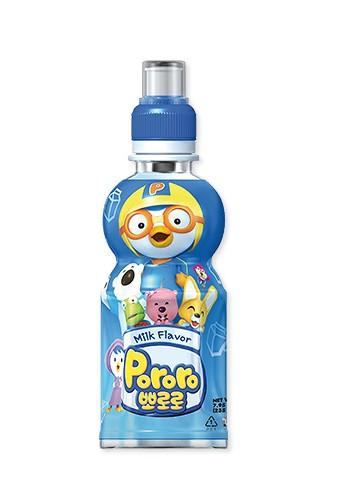 韓國 八道 PALDO PORORO 啵樂樂 乳酸飲料 牛奶口味 235ML