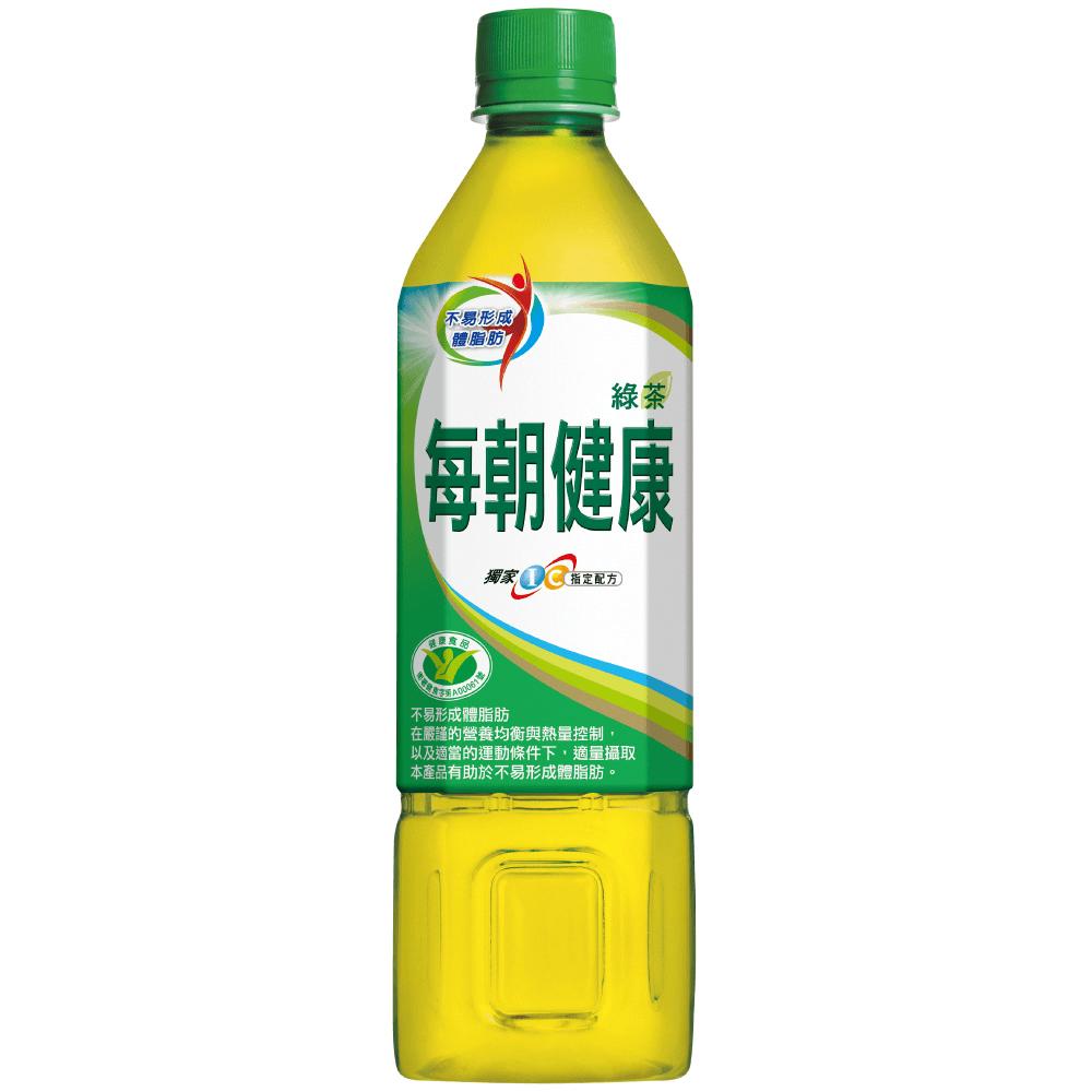 每朝健康綠茶650ml(24瓶/箱)