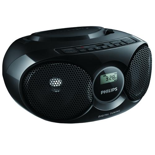 飛利浦 PHILIPS AZ318B 手提USB/CD音響-