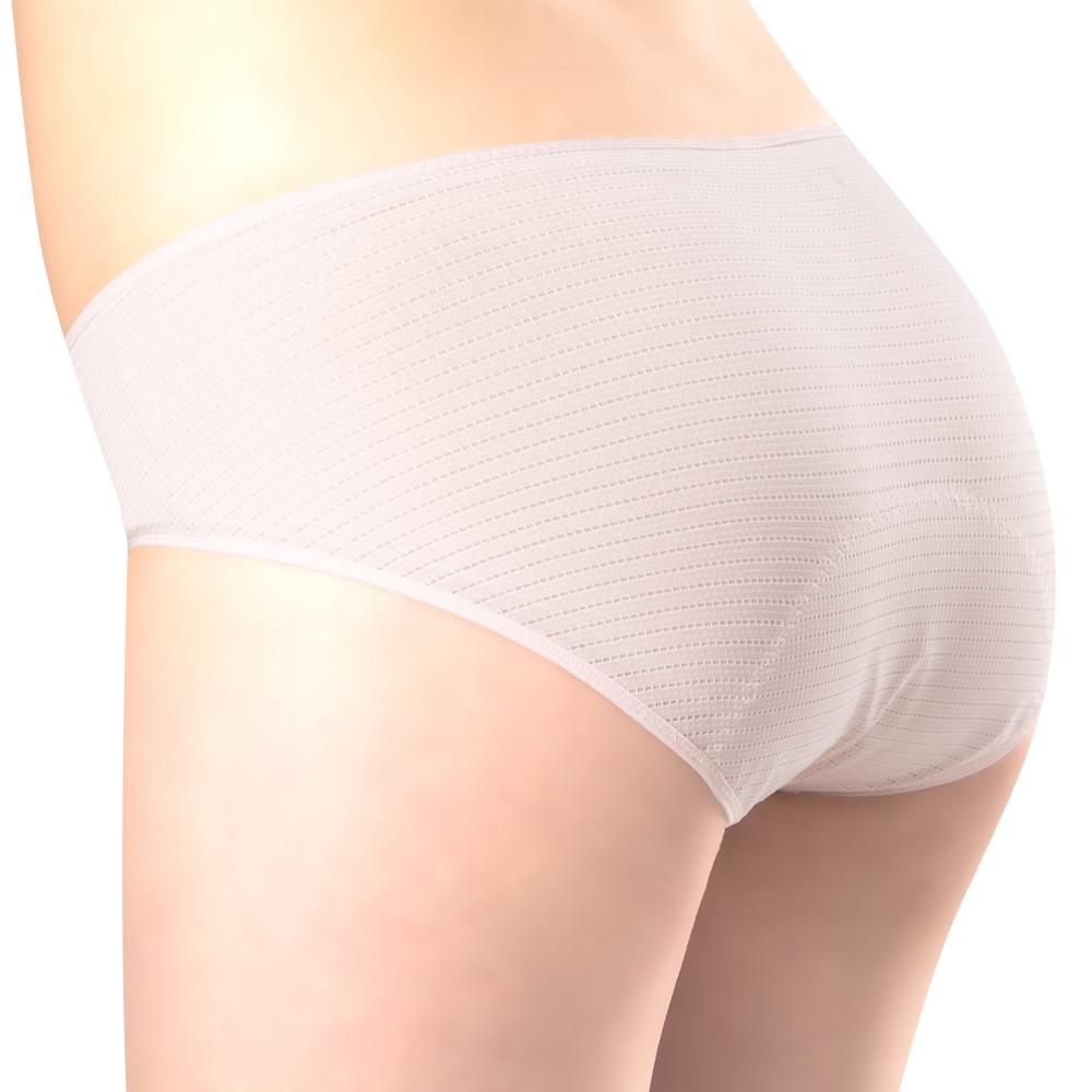 SWEAR 思薇爾 惹萌漾甜心派系列M-XXL低腰日用生理褲(木桃粉)