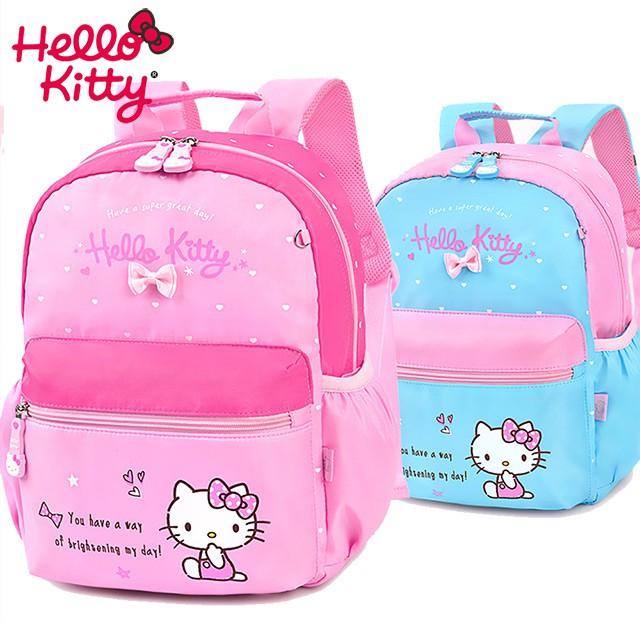 【STAR BABY】三麗鷗HELLO KITTY甜美搭色幼稚園書包 後背包(A4可放)