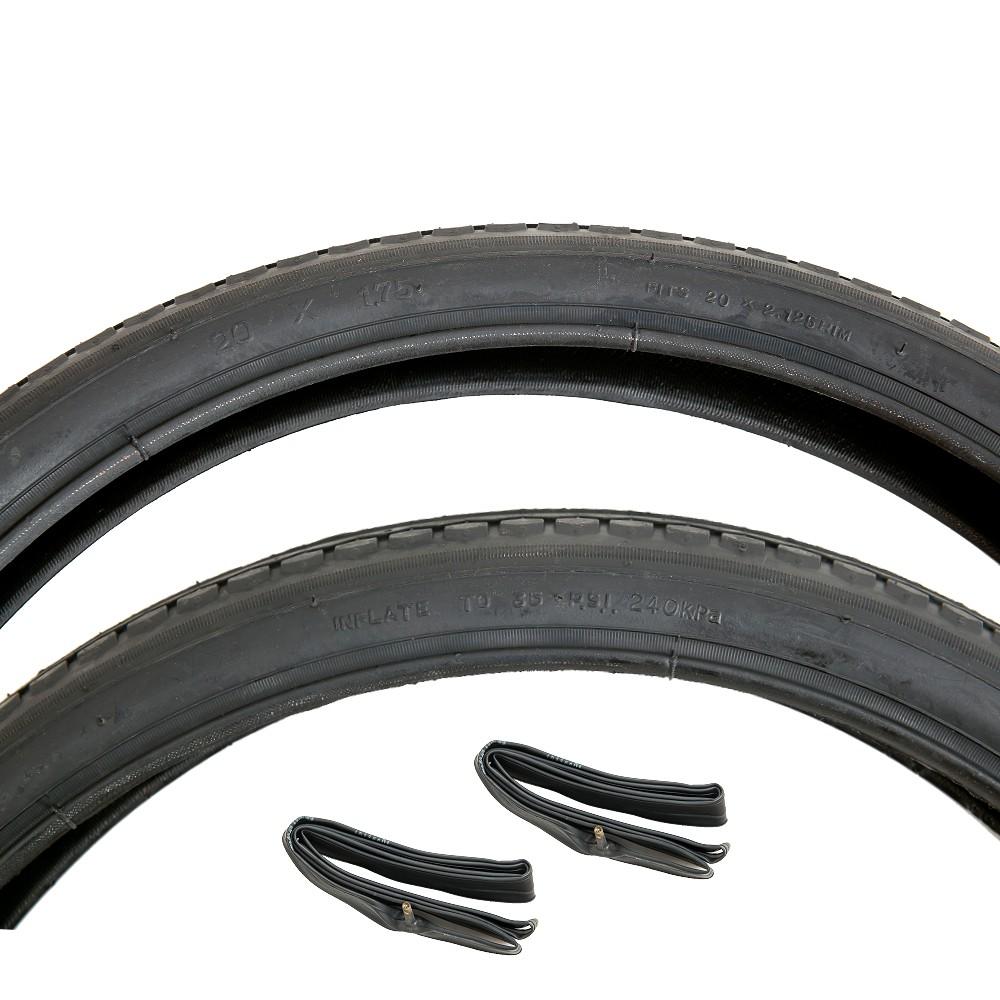 (正新 20 x 1.75 一車份 2外胎+2內胎)20*1.75細紋 單車輪胎 406腳踏車外胎 20吋小折輪胎