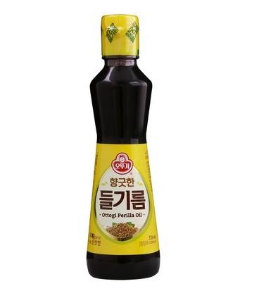 韓國 不倒翁 OTTOGI 紫蘇油 320ML