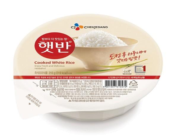 韓國 CJ 思潮 白飯 即食微波白飯 炸醬飯/方便麵/懶人料理/韓式拌飯/旅行/便當/方便快速/微波食品 210G