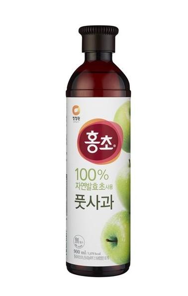 韓國 清淨園 大象 蘋果紅醋 紅醋 蘋果醋 900ML