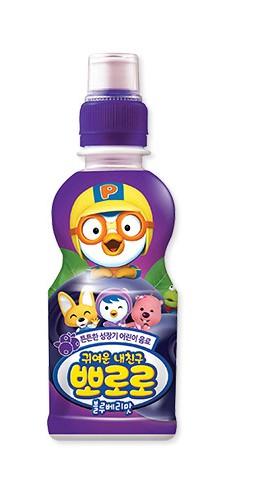 韓國 八道 PALDO PORORO 啵樂樂 乳酸飲料 藍莓口味 235ML