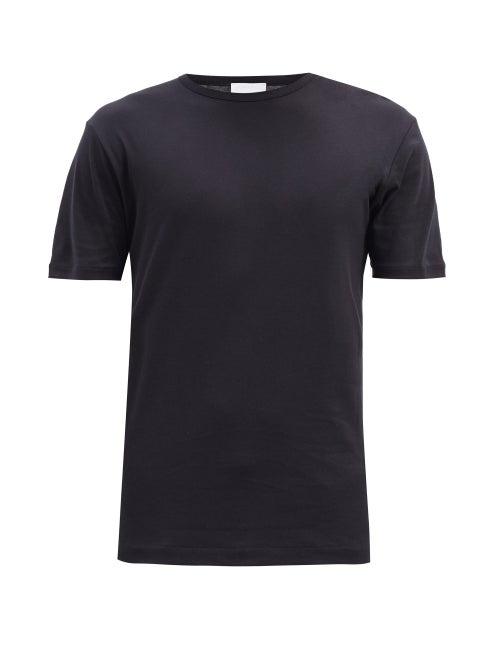 Sunspel - Sea Island Cotton-jersey T-shirt - Mens - Black