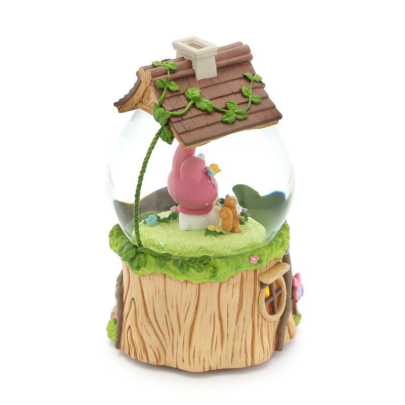 哈比屋 JARLL My Melody 森林春天音樂派對水球音樂盒 可1元加購價值200元的專屬客製化愛心吊牌