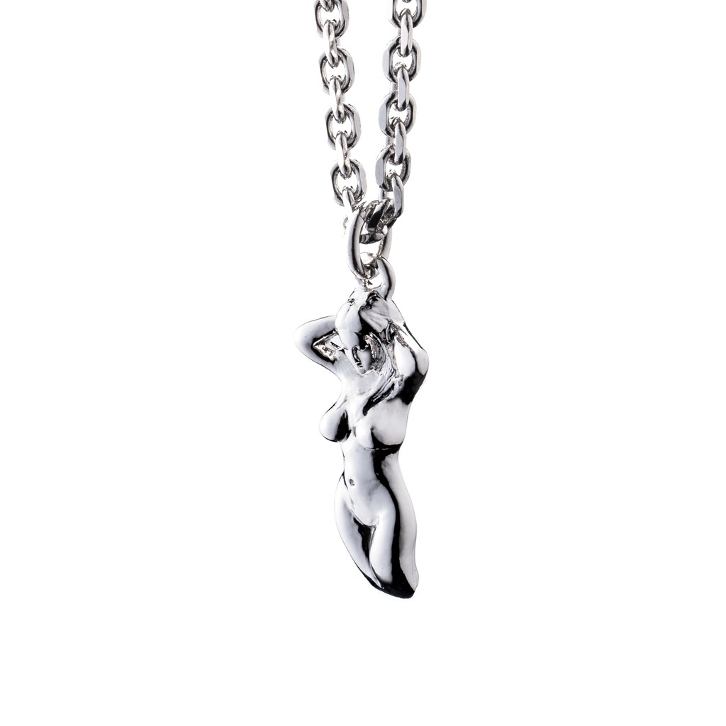 【CABRON】CHROME LADY Necklace 裸女項鍊