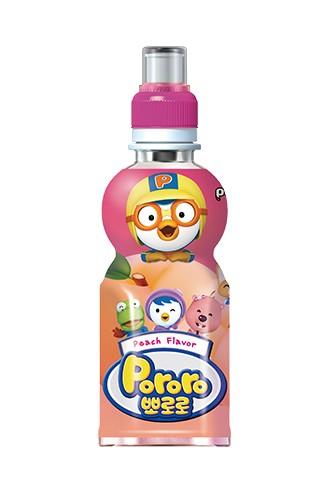 韓國 八道 PALDO PORORO 啵樂樂 乳酸飲料 水蜜桃口味 235ML
