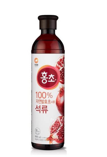 韓國 清淨園 大象 石榴紅醋 紅醋 石榴醋 900ML