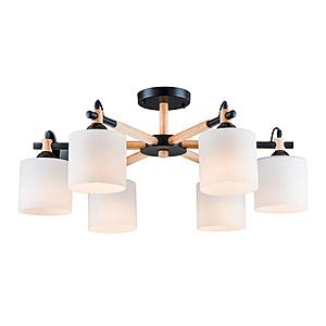【大巨光】北歐風6燈半吸頂燈-大(BM-20121)W800mmXH340mm