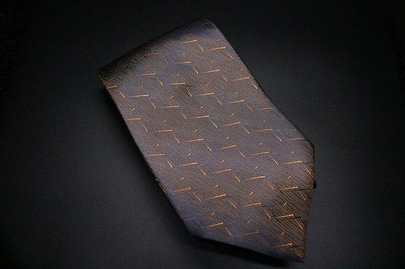 漸變螢火蟲真絲領帶/百搭型男紳士necktie