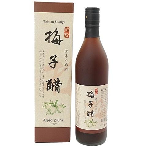 3瓶特惠 祥記 陳年梅子醋 600ml/瓶