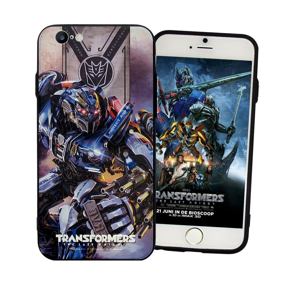 正版授權 變形金剛5 iPhone SE2/8/7 4.7吋 共用 雙料浮雕保護殼(判官)