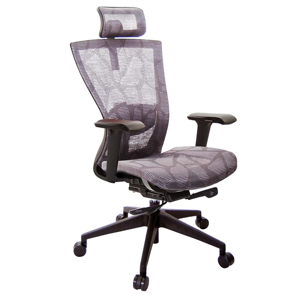 GXG 高背全網 電腦椅  4D扶手鋁合金座  TW-81Z5 LUA3