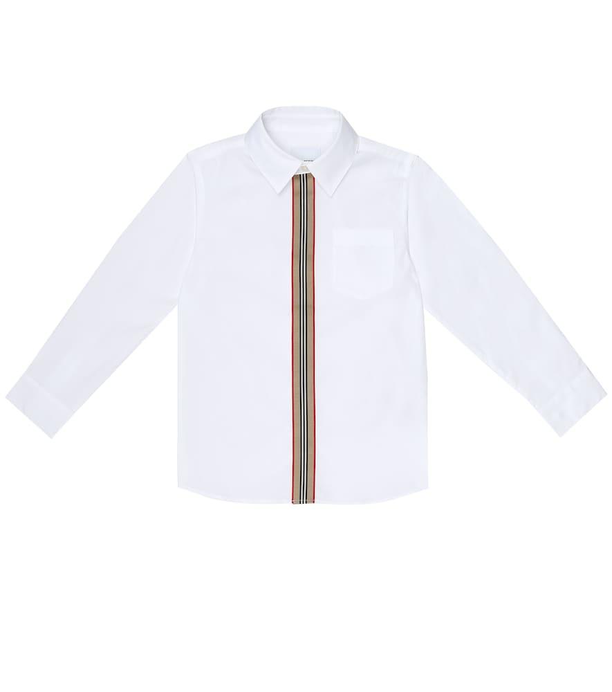 Mini Silverton stretch-cotton shirt