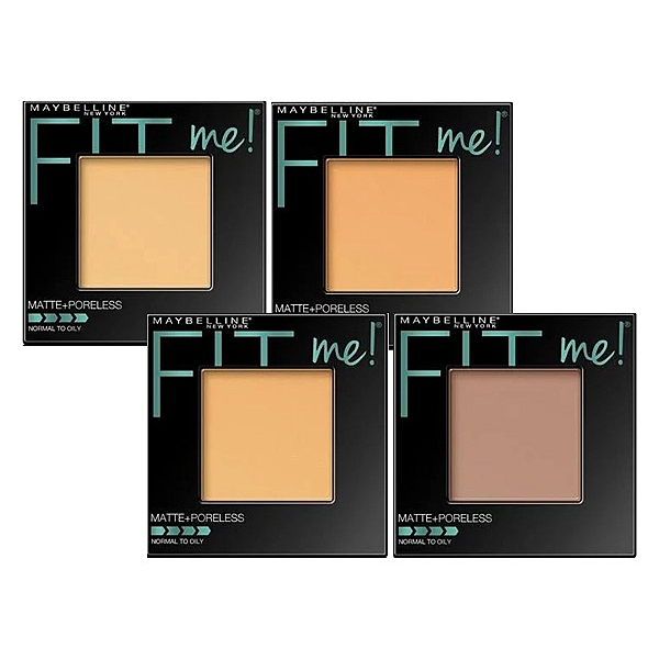 MAYBELLINE 媚比琳 FIT ME反孔特霧蜜粉餅(8.5g) 款式可選【小三美日】