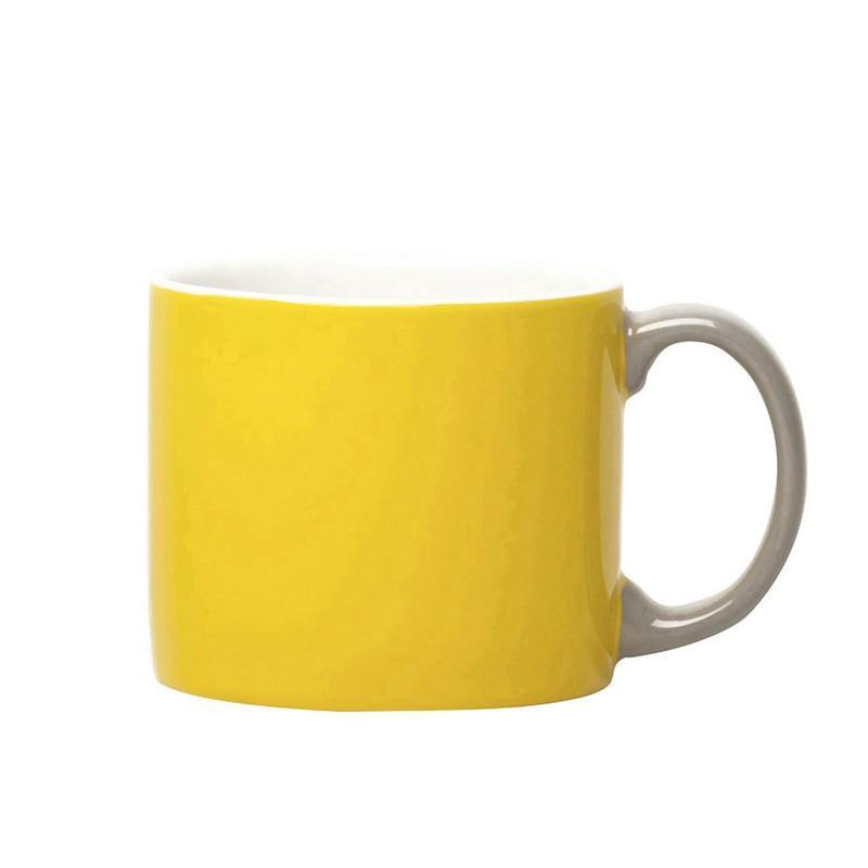 義式調色杯 S - 黃+灰