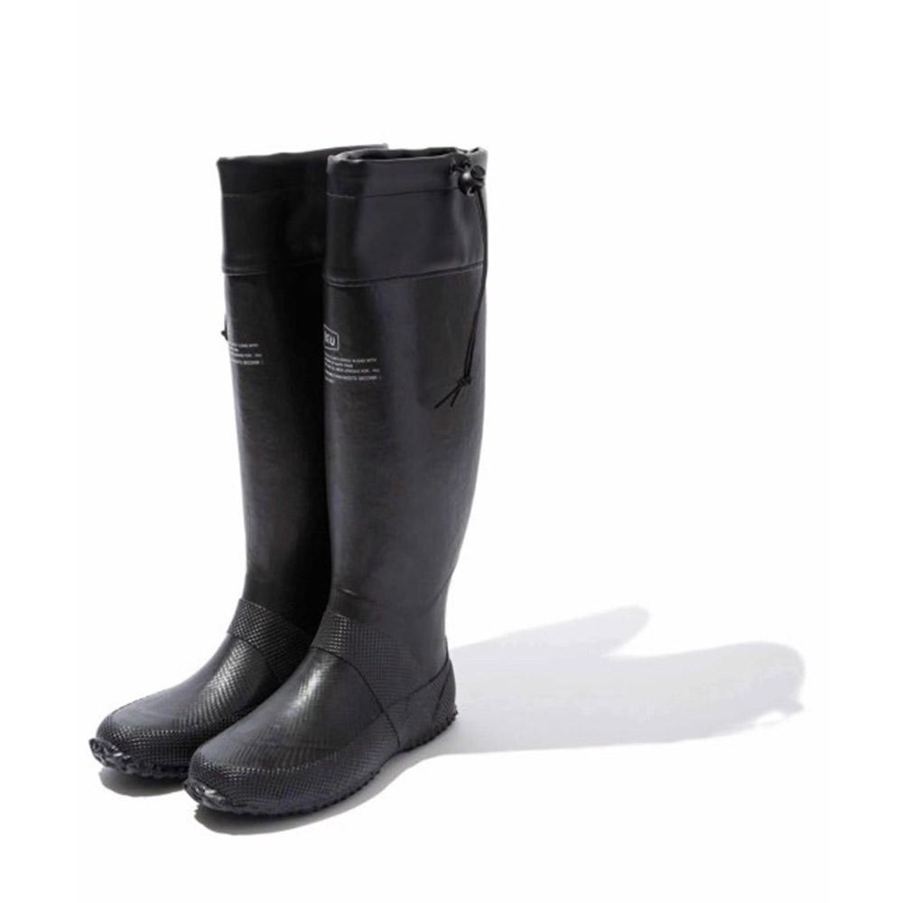 KiU 二代可折疊百搭雨鞋- 附收納袋(男女適用) 黑色