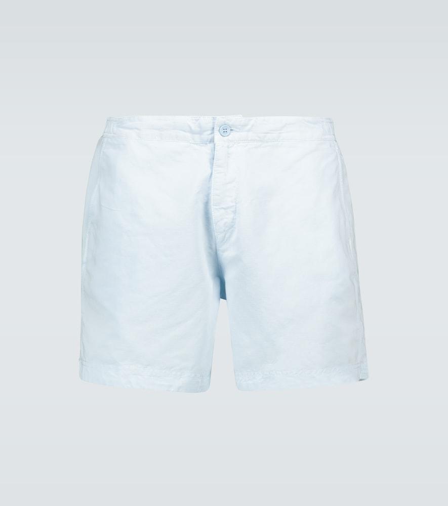 Bulldog cotton linen shorts