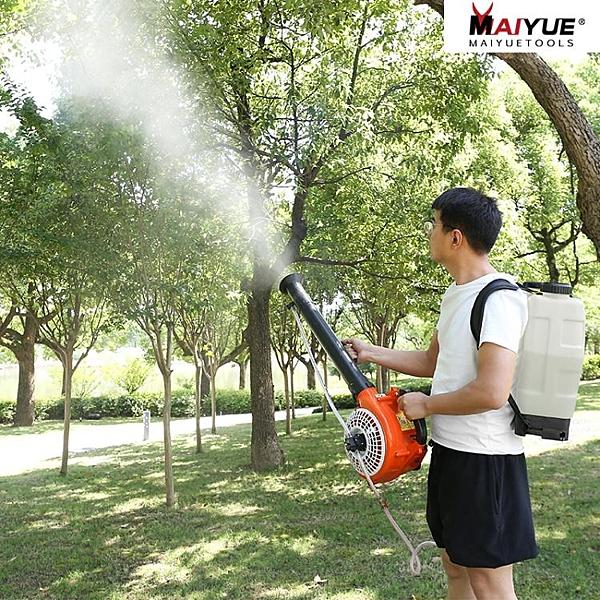 邁越汽油噴霧器農用高壓打藥機消毒背負式果樹噴農藥神器彌霧機 小艾時尚NMS