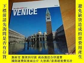 二手書博民逛書店罕見VENICE--外文原版畫冊--威尼斯--後附大地圖Y127