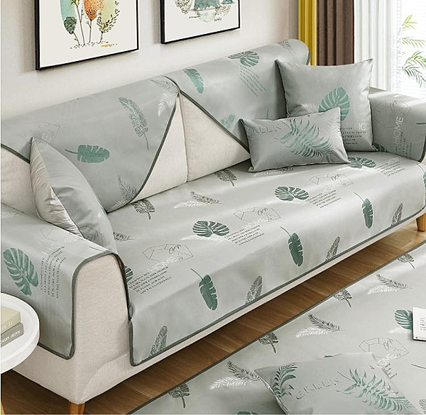 沙發涼席墊夏季夏天款冰絲沙發涼墊套罩全包萬能套通用防滑蓋布巾 小山好物