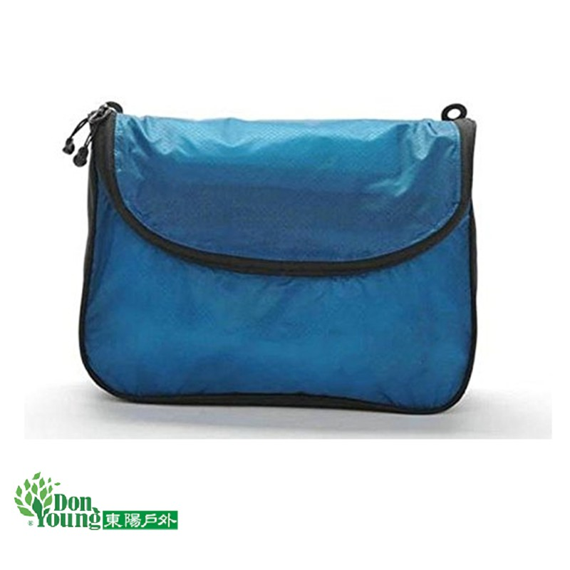 【GREEN HERMIT】 蜂鳥 防潑水多功能化妝包 盥洗包 旅行收納袋 瓦藍 TB3305