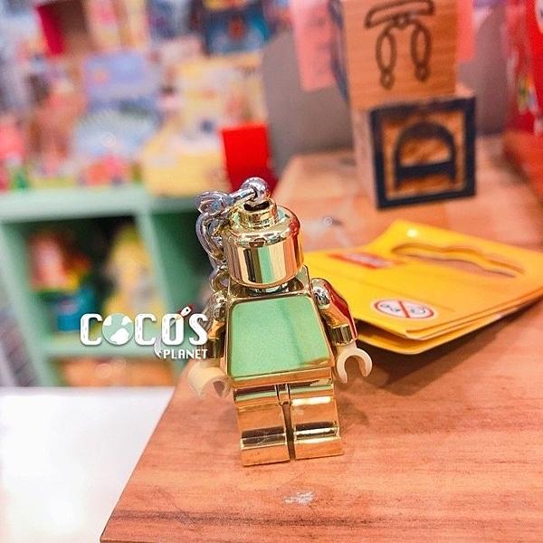 正版 LEGO 樂高鑰匙圈 小金人 人偶鑰匙圈 鎖圈 吊飾 COCOS FG280