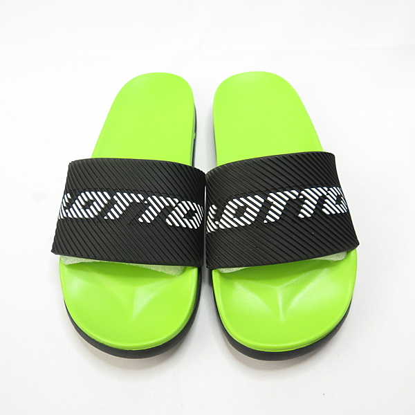 LOTTO 潮流運動拖鞋 輕量舒適 防水 LT0AKS2300 女款 黑X螢光綠【iSport愛運動】