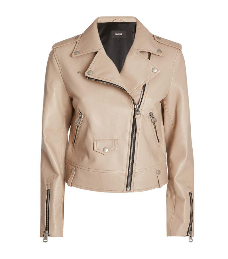 Mackage Leather Biker Jacket