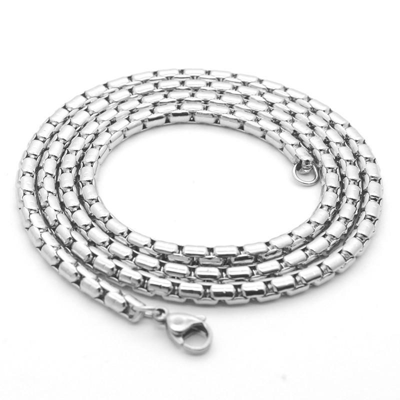 316小舖ac96(優質白鋼珍珠厚鍊條 寬:1.8mm~3.0mm /鈦鋼項鍊/鈦鋼鍊條/白鋼鏈