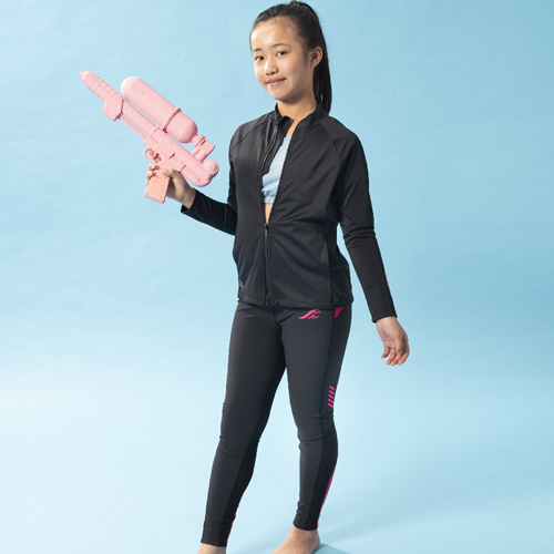 【SAIN SOU】少女防曬外套 水陸兩用 A702001-01