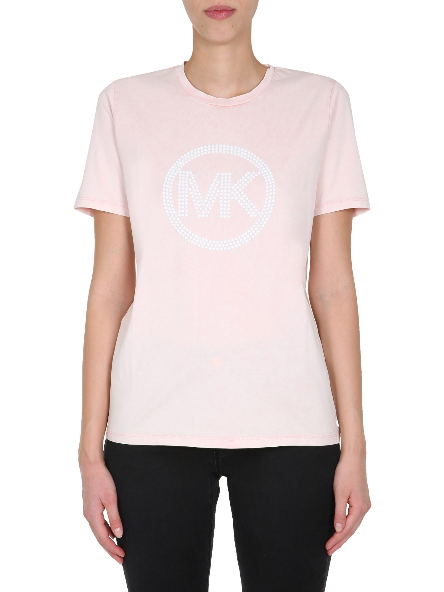 michael by michael kors round neck t-shirt
