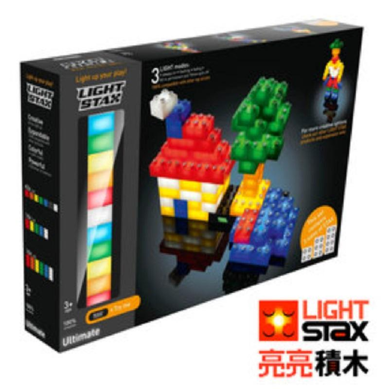 ULTIMATE創意LED積木(綜合大顆粒款75入)