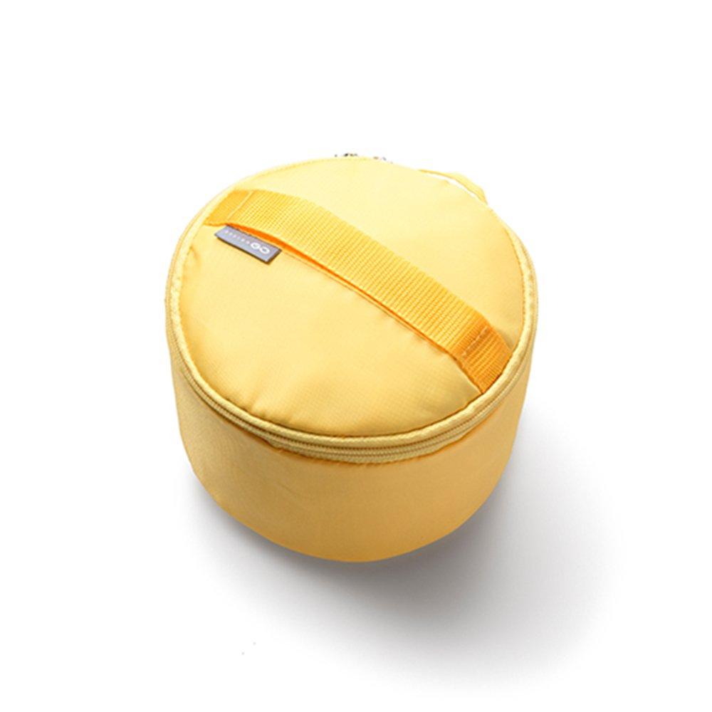【Design Go】繽紛貼身衣物收納包-黃色 indulgence 寵愛自己