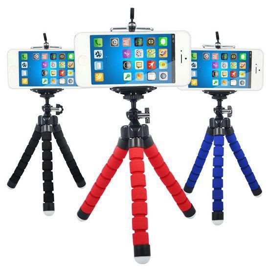 勝樂配件 【泡棉三角架】手機三腳架/迷你自拍架/數位相機/多用途便攜拍攝支架