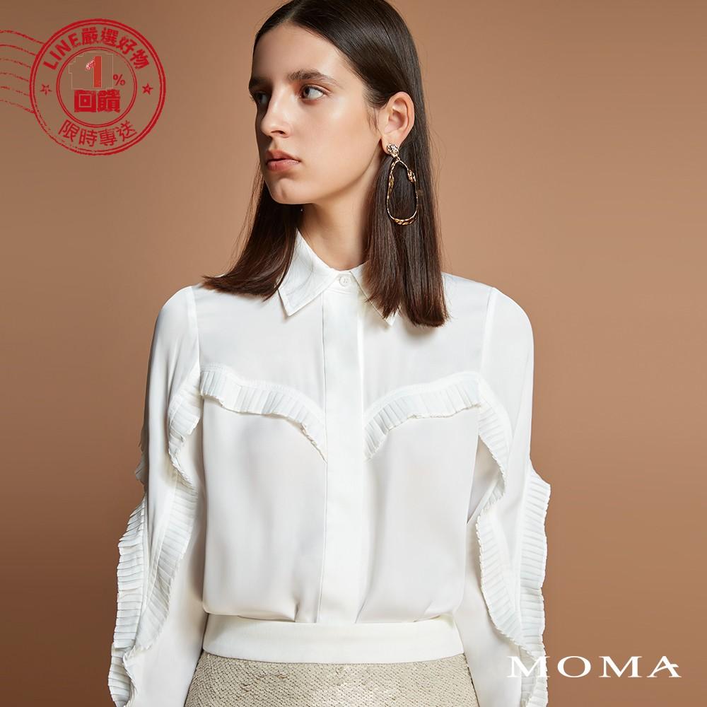 MOMA(92B015)立體荷葉襯衫