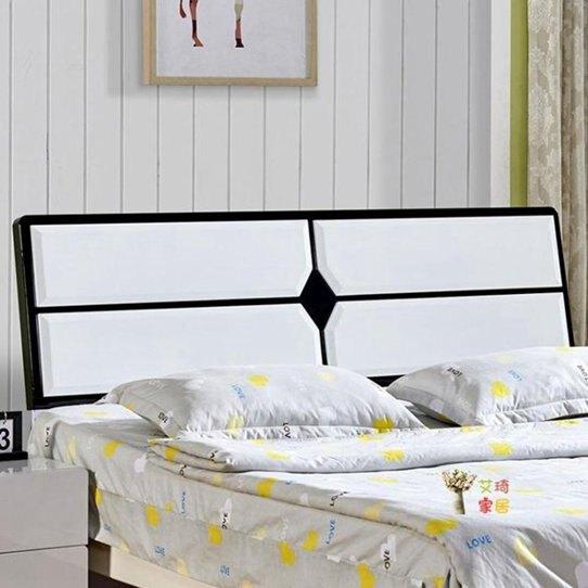 床頭板 簡約現代靠背板雙人1.5米1.8米經濟型烤漆床頭板式床頭T 秋冬新品特惠