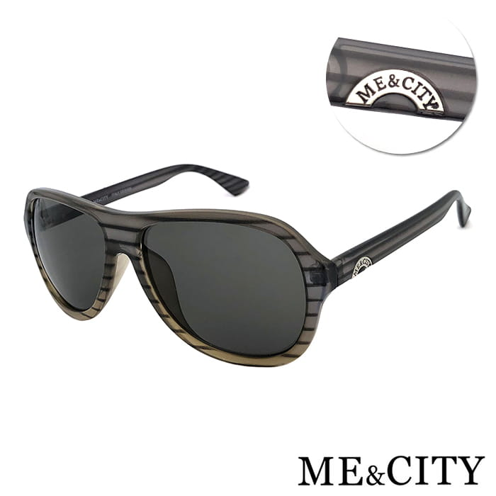 ME&CITY 韓版雷朋時尚漸層款太陽眼鏡 抗UV(ME 110015 C502)