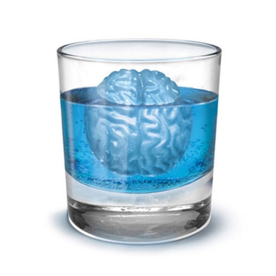 iSFun 美味腦袋 矽膠模型製冰盒 隨機色(新)