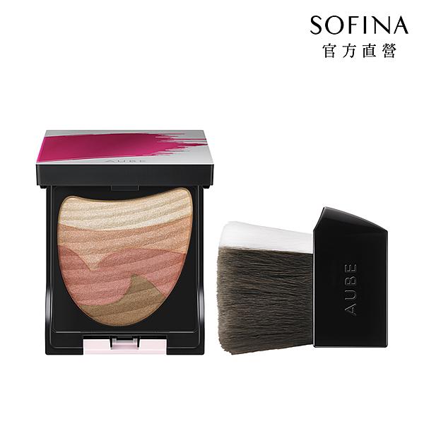 SOFINA 星鑽美型一刷綻彩頰彩盤 03
