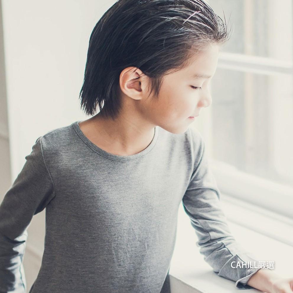 【Cahill卡其爾童裝】時尚都會拼接條紋TEE(1~12歲I MIT童裝)