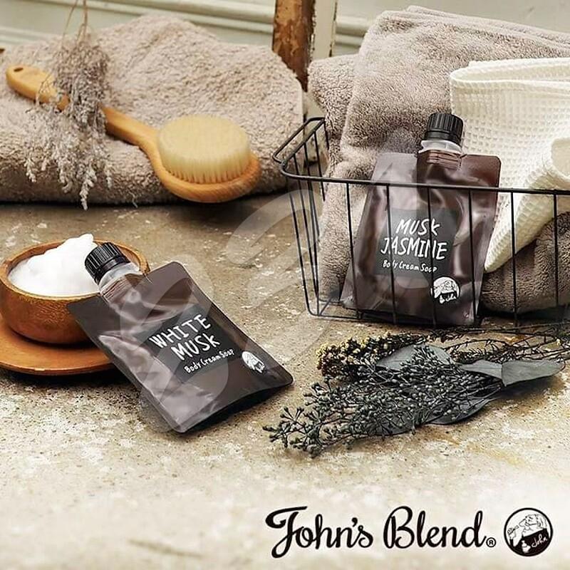 日本 john's blend 香氛保濕沐浴乳100g 沐浴露
