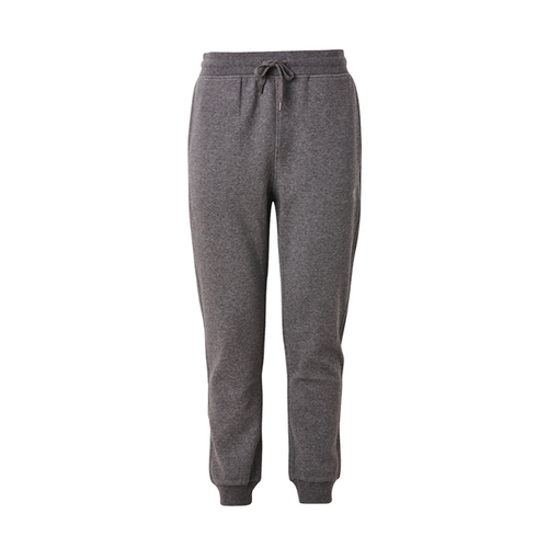Asics [2031A806-021] 男 長褲 慢跑 運動 休閒 棉質 束繩 縮口 亞瑟士 灰