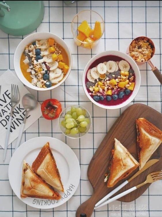 家用全自動三明治機早餐吐司雙面加熱多功能飛碟機三文治烤面包機CY
