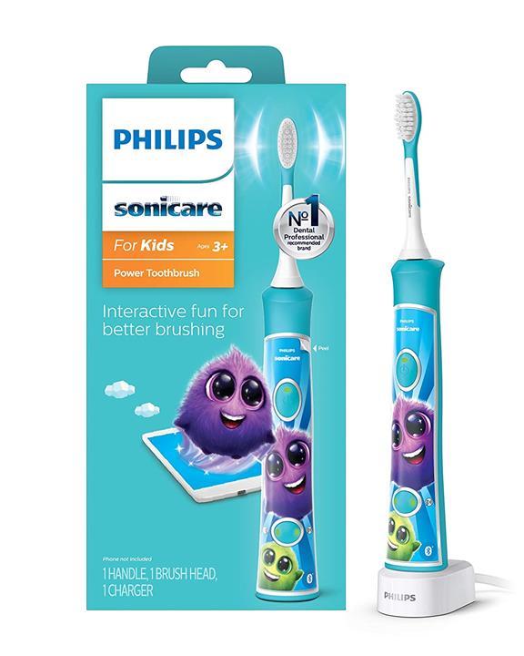 【美國代購】飛利浦Sonicare HX6321 / 02 Sonicare兒童專用 電動牙刷 藍色