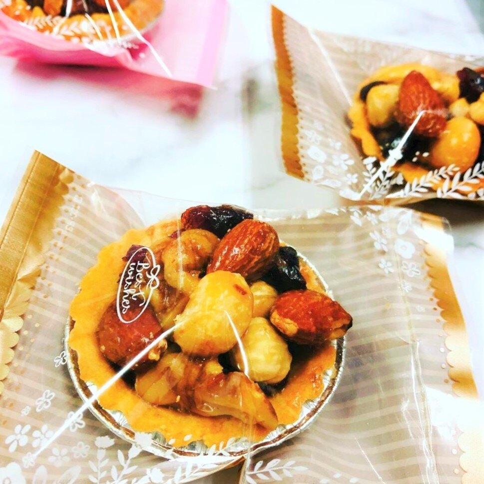 奧斯卡曲奇 Ι 綜合-法式楓糖堅果塔  2吋/ 35g/12入/盒 堅果塔 甜點 下午茶