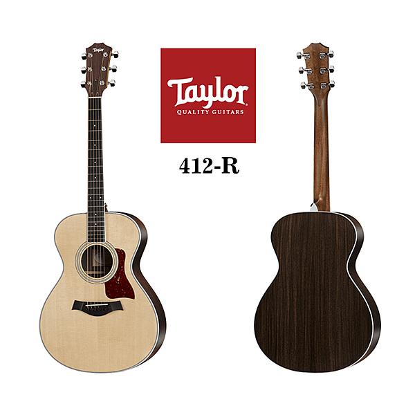 小叮噹的店 - Taylor 412-R 雲杉木 面單 木吉他 4系 泰勒吉他 附原廠琴盒
